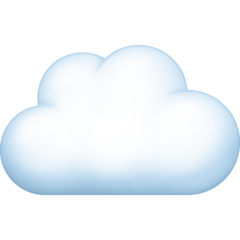 Cloud facebook emoji