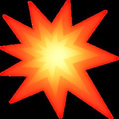 Collision Symbol facebook emoji
