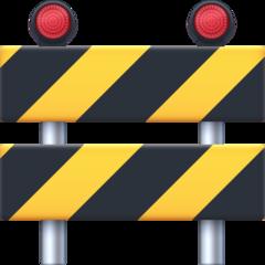 Construction Sign facebook emoji