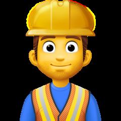 Construction Worker facebook emoji