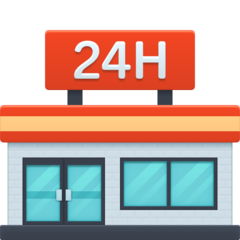Convenience Store facebook emoji