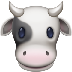 Cow Face facebook emoji