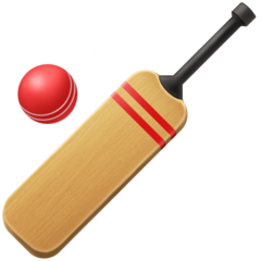 Cricket Bat And Ball facebook emoji
