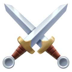 Crossed Swords facebook emoji