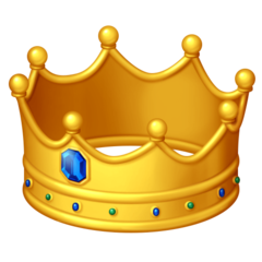 Crown facebook emoji