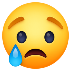 Crying Face facebook emoji