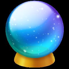 Crystal Ball facebook emoji