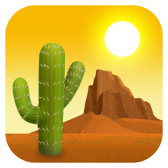 Desert facebook emoji