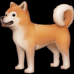 Dog facebook emoji