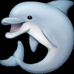 Dolphin facebook emoji