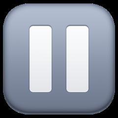 Double Vertical Bar facebook emoji