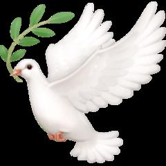 Dove Of Peace facebook emoji
