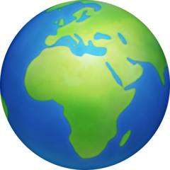 Earth Globe Europe-africa facebook emoji