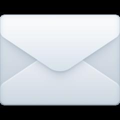 Envelope facebook emoji