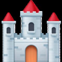 European Castle facebook emoji
