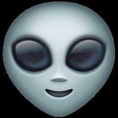 Extraterrestrial Alien facebook emoji