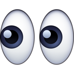 Eyes facebook emoji