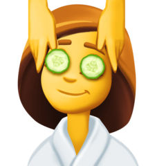Face Massage facebook emoji