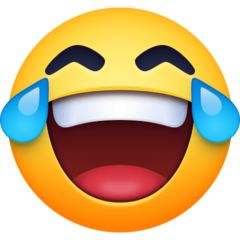 Face With Tears Of Joy facebook emoji