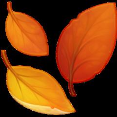 Fallen Leaf facebook emoji