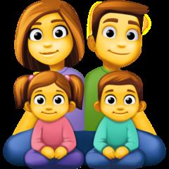 Family facebook emoji
