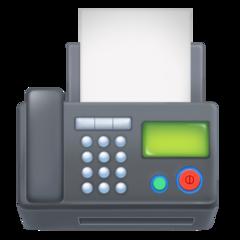 Fax Machine facebook emoji