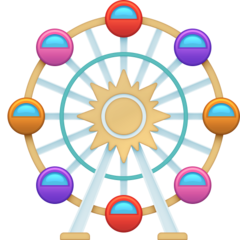 Ferris Wheel facebook emoji