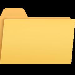 File Folder facebook emoji