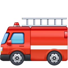 Fire Engine facebook emoji