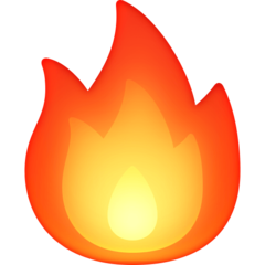 Fire facebook emoji