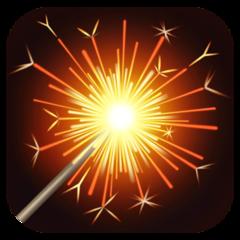 Firework Sparkler facebook emoji