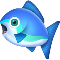 Fish facebook emoji