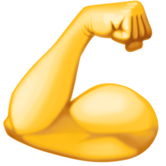 Flexed Biceps facebook emoji
