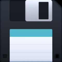 Floppy Disk facebook emoji