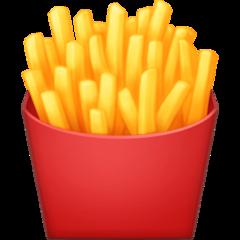 French Fries facebook emoji