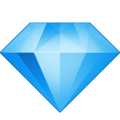 Gem Stone facebook emoji