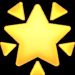 Glowing Star facebook emoji