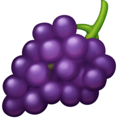 Grapes facebook emoji