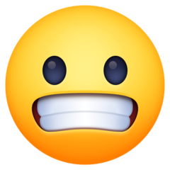 Grimacing Face facebook emoji