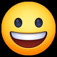 Grinning Face facebook emoji