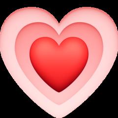 Growing Heart facebook emoji