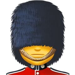 Guardsman facebook emoji