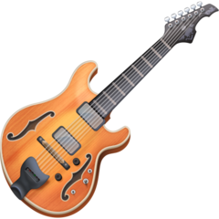 Guitar facebook emoji