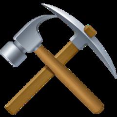 Hammer And Pick facebook emoji