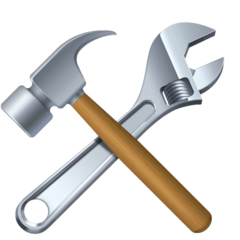 Hammer And Wrench facebook emoji