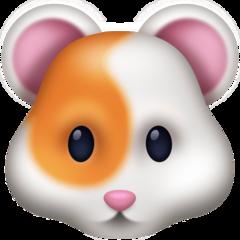 Hamster Face facebook emoji