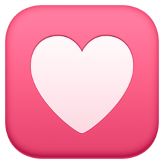 Heart Decoration facebook emoji