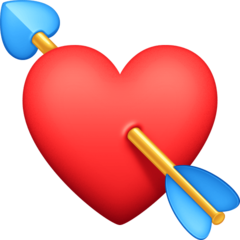 Heart With Arrow facebook emoji