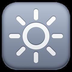 High Brightness Symbol facebook emoji