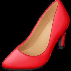 High-heeled Shoe facebook emoji